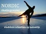 Endeloos schaatsen op natuurijs in Scandinavië